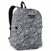 #2045P-ZEBRA Wholesale Classic Pattern Backpack - Case of 30 Backpacks