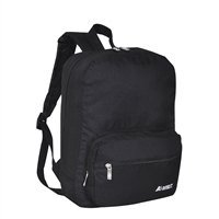 #2045S-BLACK Wholesale Mini Kids Ripstop Backpack - Case of 30