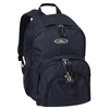 #2045W-NAVY Wholesale Sporty Backpack - Case of 30 Backpacks