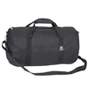 #20P-BLACK Wholesale 20-inch Round Duffel Bag - Case of 40 Duffel Bags