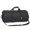 #23P-BLACK Wholesale 23-inch Round Duffel Bag - Case of 40