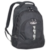 #3045DL-BLACK Wholesale Deluxe Backpack with Multiple Compartments - Case of 30 Backpacks