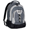 #3045DL-CHARCOAL/GRAY/BLACK Wholesale Deluxe Backpack with Multiple Compartments - Case of 30 Backpacks