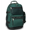 #3045R-DARK GREEN Wholesale Oversized Deluxe Backpack - Case of 20 Backpacks