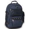 #3045R-NAVY Wholesale Oversized Deluxe Backpack - Case of 20 Backpacks
