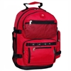 #3045R-RED Wholesale Oversized Deluxe Backpack - Case of 20 Backpacks