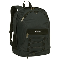 #3045SH-BLACK Wholesale Two-Tone Backpack - Case of 30 Backpacks