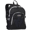 #3045W-NAVY/GRAY/BLACK Wholesale Large Storage Backpack - Case of 30 Backpacks