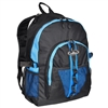 #3045W-ROYAL BLUE/BLUE/BLACK Wholesale Large Storage Backpack - Case of 30