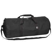 #30P-BLACK Wholesale 30-inch Round Duffel Bag - Case of 20