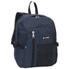 #5045SC-NAVY Wholesale Backpack with Front Mesh Pocket - Case of 30 Backpacks