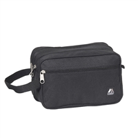 Dual Compartment Toiletry Bag