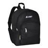 #6045S-BLACK Wholesale Mini Kids Slant Backpack - Case of 30