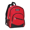 #6045S-RED Wholesale Mini Kids Slant Backpack - Case of 30 Backpacks