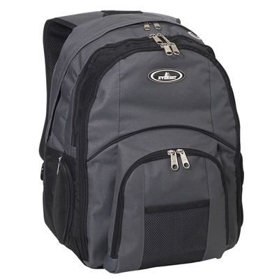 #7045LT-CHARCOAL Wholesale Laptop Backpack - Case of 20