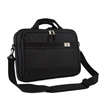 #766PU-BLACK Wholesale Slim Briefcase - Case of 20
