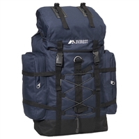 #8045D-NAVY Wholesale Hiking Backpack - Case of 10 Hiking Backpacks