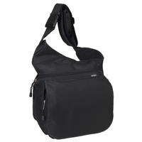 #BB005-BLACK Wholesale Messenger Bag - Case of 20 Messenger Bags