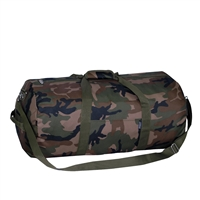 #C23P-CAMO Wholesale 23-inch Camo Round Duffel Bag - Case of 40 Duffel Bags