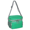 #CB6-EMERALD GREEN Wholesale Cooler / Lunch Bag - Case of 20