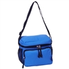 #CB6-ROYAL BLUE Wholesale Cooler / Lunch Bag - Case of 20 Lunch Bags