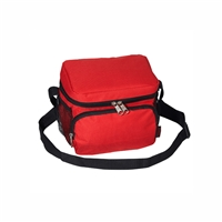 #CB6-RED Wholesale Cooler / Lunch Bag - Case of 20 Lunch Bags