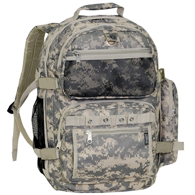 #DC3045R-DCAMO Wholesale Oversized Digital Camo Backpack - Case of 20