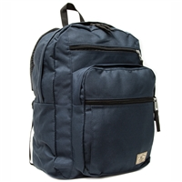 #DP3000-NAVY Wholesale Laptop Backpack - Case of 30 Backpacks