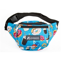 #P044KD-DONUTS Wholesale Pattern Waist Pack - Standard - Case of 50 Waist Packs