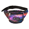 #P044KD-GALAXY Wholesale Pattern Waist Pack - Standard - Case of 50 Waist Packs