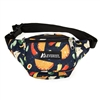 #P044KD-TACOS Wholesale Pattern Waist Pack - Standard - Case of 50
