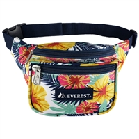 #P044KD-TROPICAL Wholesale Pattern Waist Pack - Standard - Case of 50 Waist Packs