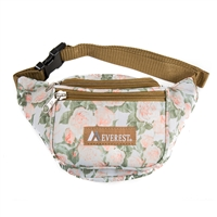 #P044KD-VINTAGE FLORAL Wholesale Pattern Waist Pack - Standard - Case of 50