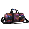 #P1609-GALAXY Wholesale 16-inch Pattern Round Duffel Bag - Case of 40 Duffel Bags