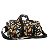#P1609-TACOS Wholesale 16-inch Pattern Round Duffel Bag - Case of 40
