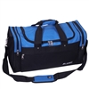 #S219-ROYAL BLUE Wholesale 22-inch Sports Duffel Bag - Case of 20 Duffel Bags