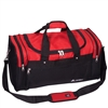 #S219-RED Wholesale 22-inch Sports Duffel Bag - Case of 20 Duffel Bags