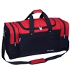 #S219L-RED Wholesale 26-inch Sports Duffel Bag - Case of 20