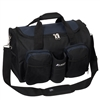 #S223-NAVY Wholesale 18-inch Gym Bag with Wet Pocket - Case of 20 Gym Bags