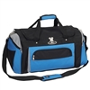 #S232-ROYAL BLUE/GRAY/BLACK Wholesale 24-inch Duffel Bag - Case of 20
