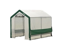 "ShelterLogic Grow-It Organic Growers Greenhouse with Mesh Scrim Cover, 6' x 8' x 6-Feet 6' 6"" / Model 70641"