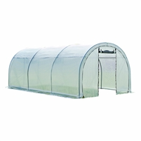 "Shelter Logic Grow it Organic Growers Pro Tunnel Design Round Top Greenhouse, 10' x 19' - 8"" x 8' / Model 70576"
