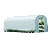 Shelter Logic Grow it Heavy Duty Walk-Thru Greenhouse, Round 12' x 20' x 8' / Model 70592