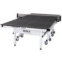JOOLA Triumph 25mm Table Tennis Table with Corner Ball Holders and Magnetic Scorer / Model 11125