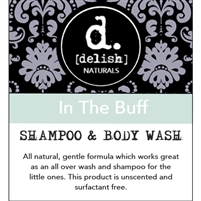 "<font size=""3""><b>Delish-ious Shampoo & Body Wash In The Buff</b></font>"