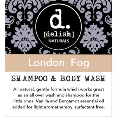 "<font size=""3""><b>Delish-ious Shampoo & Body Wash London Fog</b></font>"