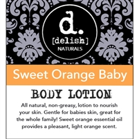 "<font size=""3""><b>Body Lotion Sweet Orange Baby</b></font>"