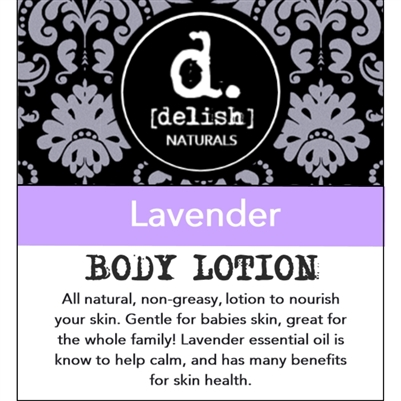 "<font size=""3""><b>Body Lotion Lavender 8oz</b></font>"