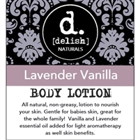 "<font size=""3""><b>Body Lotion Lavender Vanilla 8oz</b></font>"