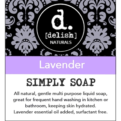 "<font size=""3""><b>Simply Soap ""Lavender""</font></b>"